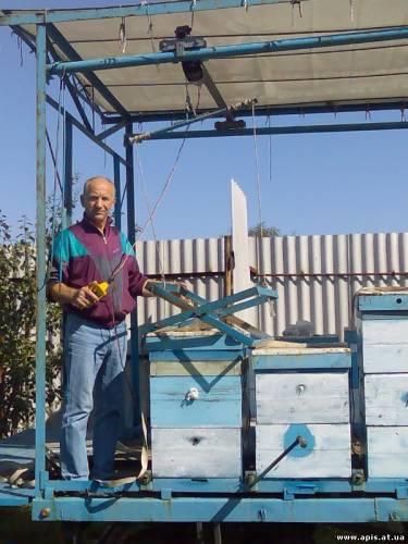 Пчеловодство подъемники для ульев своими руками 76